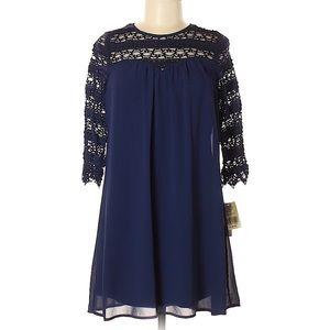 Speechless 3/4 sleeve dress